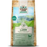12 kg | Wildes Land | Lamm mit Reis und Wildkräutern Classic Adult | Trockenfutter | Hund