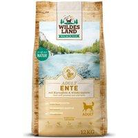 12 kg | Wildes Land | Ente mit Kartoffeln und Wildkräutern Classic Adult | Trockenfutter | Hund