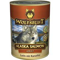 6 x 200 g | Wolfsblut | Alaska Salmon Adult | Nassfutter | Hund