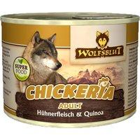 6 x 190 g   Wolfsblut   Chickeria mit Hühnerfleisch & Quinoa Adult   Nassfutter   Hund