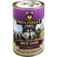 12 x 395 g | Wolfsblut | Wild Game Adult | Nassfutter | Hund
