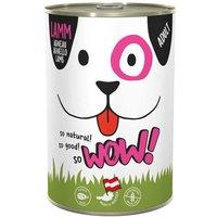12 x 400 g | WOW | Lamm Adult | Nassfutter | Hund