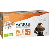 12 x 150 g   Yarrah   Multipack für Hunde Paté   Nassfutter   Hund