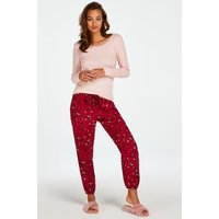 Hunkemöller Petite Twill Pyjama pants Red