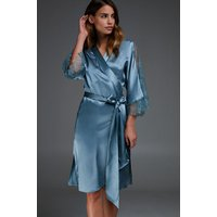 Hunkemöller Silk Lace Kimono Blue