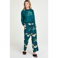 Hunkemöller Lotus Bird Petite Pyjama Pants Grey