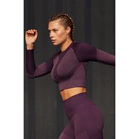 Hunkemöller HKMX The Motion Crop Top Purple