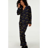 Hunkemöller DKNY-Pyjamaset Blau