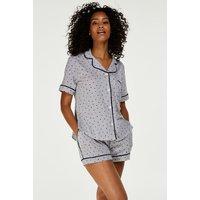 Hunkemöller DKNY-Pyjamaset Grau