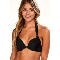 Hunkemoller Voorgevormde push-up bikinitop Sunset Dream Cup A - E Zwart