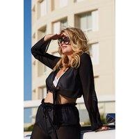 Hunkemoller Top Cannes Vivian Hoorn Zwart