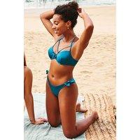 Hunkemoller Brazilian bikinibroekje Sunset Dream Blauw