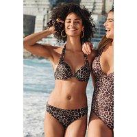 Hunkemoller Rio bikinibroekje Leopard Beige