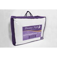 Cascade Home Goose Feather and Down Double Duvet - 10.5 Tog