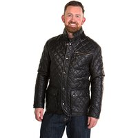 Woodland Leather Gents Criss Cross Country Coat