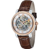 Thomas Earnshaw Gents Longcase Automatic Watch with Genuine Leather Strap