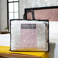 Downland Mulberry Silk and Wool T300 Duvet (Double)