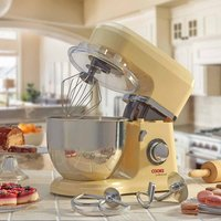 'Cooks Professional D9272 Cream Stand Mixer With Stainless Steel Bowl