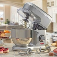 'Cooks Professional D9270 Silver Stand Mixer With Stainless Steel Bowl