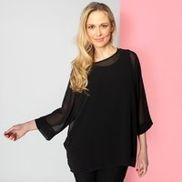 Nicole Chiffon Top with Two Way Camisole