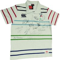 Six Nations Rugby Shirt Multi Signed By All Captains, Coaches and Rugby Legends