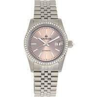 Empress Ladies Constance Automatic Watch with Stainless Steel Bracelet