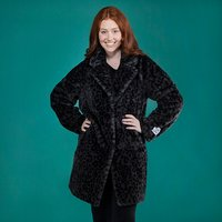 Rino and Pelle Print Faux Fur Coat