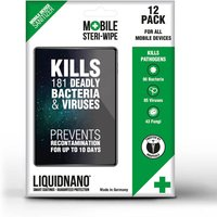 Liquidnano Mobile Steriwipes - Pack of 12