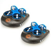 Hover Blast 3 in 1 Land and Sea Drone Twin Pack
