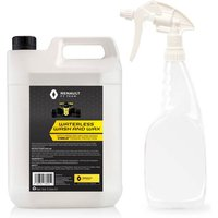 Renault F1 Waterless Wash and Wax 5L Jerry Can plus 750ml bottle and sprayer