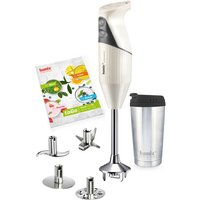 Bamix to Go Handheld Food Processor with Insulated Cup