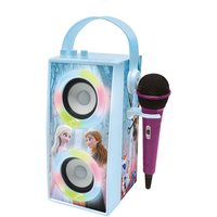 Trendy Portable Bluetooth Speaker with Mic and Light Effects