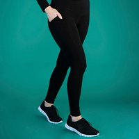 TLC Extra Strong Compression Standard Waist Leggings with Pockets - Short