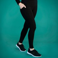TLC Extra Strong Compression Standard Waist Leggings with Pockets - Regular