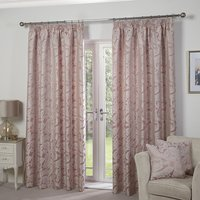 Duchess Jacquard Lined Tape Header 46andquot; Curtains