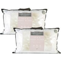 Downland Mulberry Silk and Wool T300 Surround Pillow Pair
