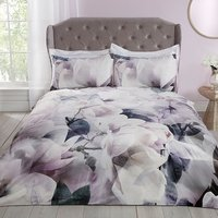 Soft Blooms Velvet Single Duvet Set