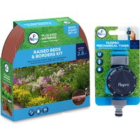 Flo Pro Summer Watering Kit - Hose and Timer
