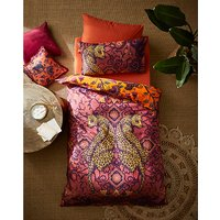 Joe Browns Reflective Leopard Duvet Cover Set - King - Amber Multi