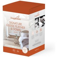 Snuggledown Goose Feather and Down All Season Duvet - 13.5 Tog - Super King
