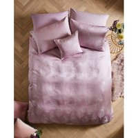 Joe Browns Luxury Jacquard Feather Bedset King - 2 Pillow Cases - Mauve