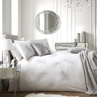 By Caprice Home - Eva - Embroidered Feather King Duvet Cover Set