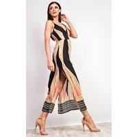 IKRUSHIKRUSH Womens Jocelyn Pattern Maxi Dress