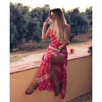 IKRUSHIKRUSH Womens Joasia Strappy Bodysuit Maxi Dress