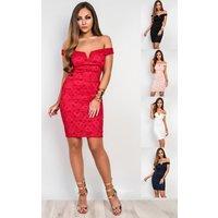 IKRUSHIKRUSH Womens Danica Lace Party Dress