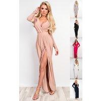 IKRUSHIKRUSH Womens Mitra Bodycon Maxi Dress