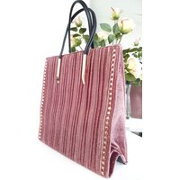 IKRUSH Womens Merisa Studded Suede Handbag
