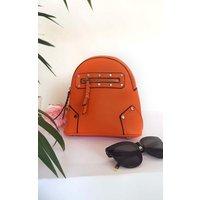 IKRUSH Womens Frida Faux Leather Mini Backpack Bag