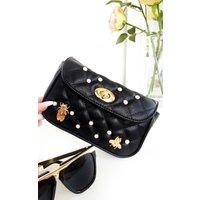 IKRUSH Womens Nellie Bee Embellished Multiway Bag