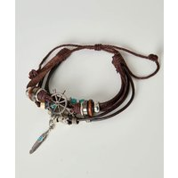 Mahon Leather Bracelet